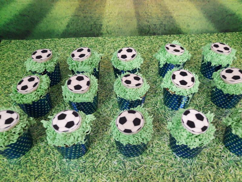 קאפקייקס בעיצוב כדורגל