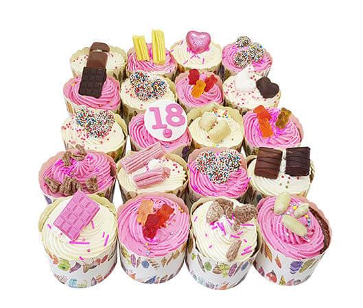 קאפקייקס עם ממתקים
