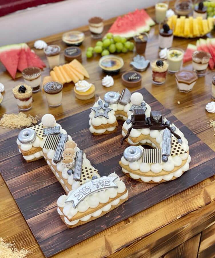 שולחן יום הולדת לבר מצווה