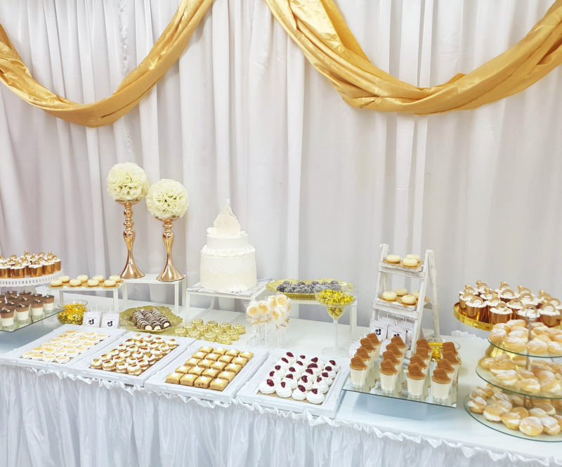 שולחן מתוקים לחתונה