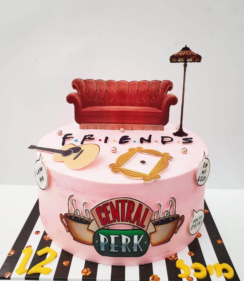 עוגה של חברים Friends